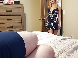 Sister wakes step brother with a blowjob and gets a creampie